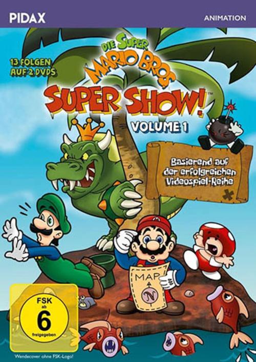 (C) Pidax Film / Die Super Mario Bros. Super Show! Vol. 1 / Zum Vergrößern auf das Bild klicken
