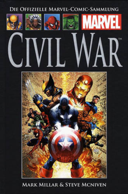 (C) Hachette / Die offizielle Marvel-Comic-Sammlung 30 / Zum Vergrößern auf das Bild klicken