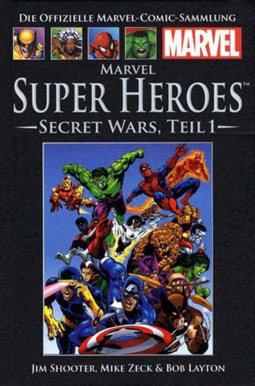 (C) Hachette / Die offizielle Marvel-Comic-Sammlung 38 / Zum Vergrößern auf das Bild klicken