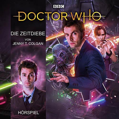 (C) Lübbe Audio / Doctor Who: Die Zeitdiebe / Zum Vergrößern auf das Bild klicken