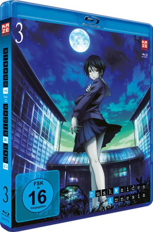 (C) KAZÉ Anime / Dusk Maiden of Amnesia Vol. 3 / Zum Vergrößern auf das Bild klicken