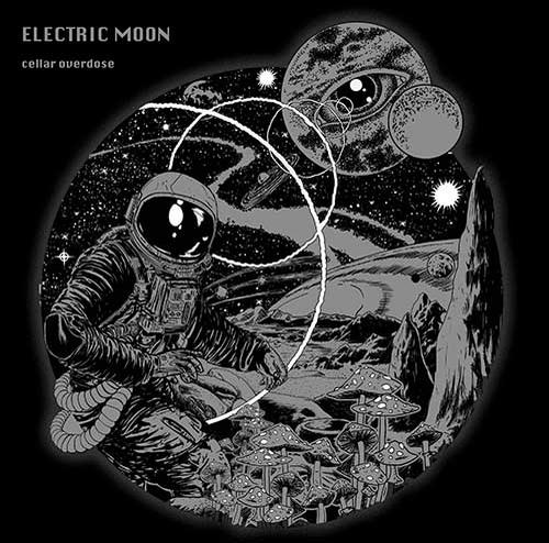 (C) Worst Bassist Records / ELECTRIC MOON: Cellar Overdose / Zum Vergrößern auf das Bild klicken