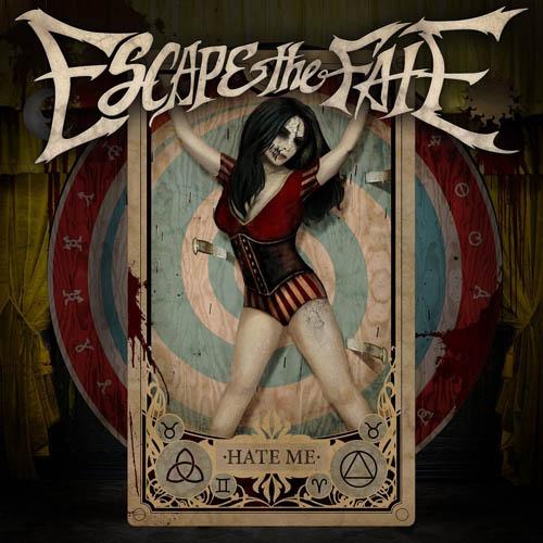 (C) Eleven Seven Music / ESCAPE THE FATE: Hate Me / Zum Vergrößern auf das Bild klicken