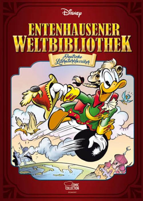 (C) Egmont Comic Collection / Entenhausener Weltbibliothek - Deutsche Literaturklassiker / Zum Vergrößern auf das Bild klicken
