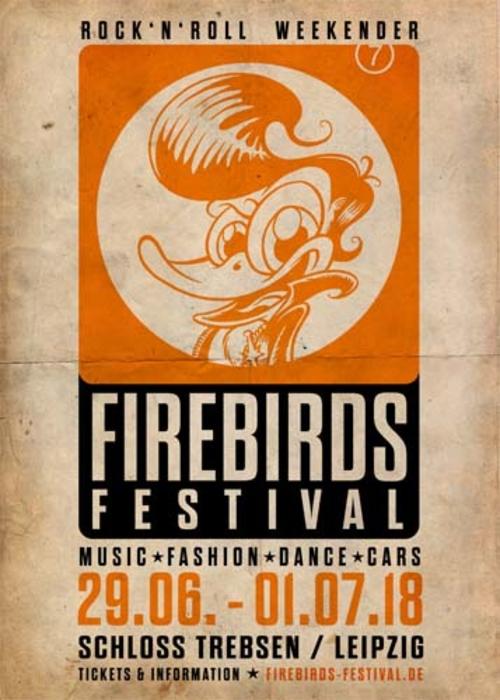 (C) Firebirds Festival / Firebirds Festival 2018 Logo / Zum Vergrößern auf das Bild klicken