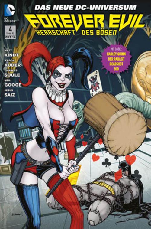 (C) Panini Comics / Forever Evil Sonderband 4 / Zum Vergrößern auf das Bild klicken