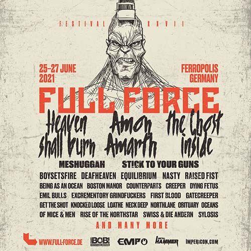(C) Full Force / Full Force 2021 Flyer / Zum Vergrößern auf das Bild klicken