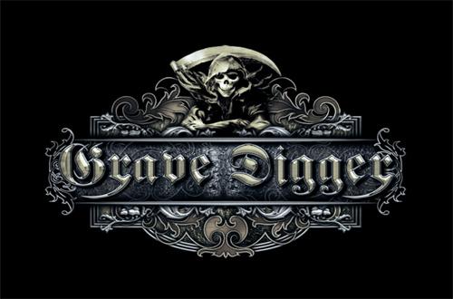 (C) GRAVE DIGGER / GRAVE DIGGER Logo / Zum Vergrößern auf das Bild klicken