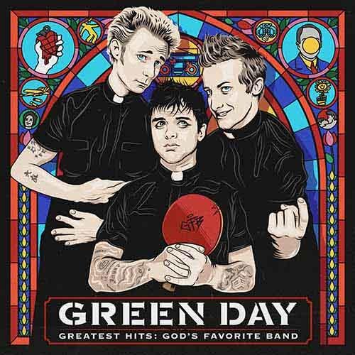 (C) Warner Music / GREEN DAY: Greatest Hits: God`s Favorite Band / Zum Vergrößern auf das Bild klicken