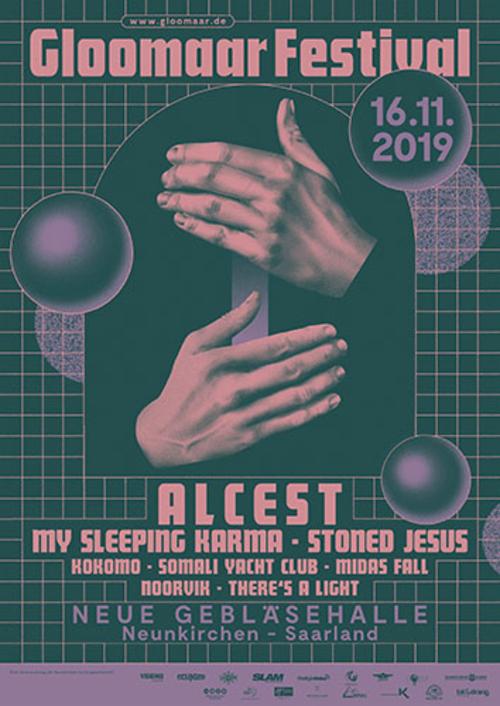 (C) Gloomaar Festival / Gloomaar Festival 2019 Poster / Zum Vergrößern auf das Bild klicken