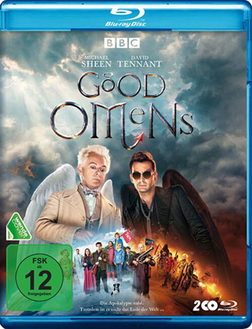 (C) Polyband / Good Omens Blu-ray / Zum Vergrößern auf das Bild klicken