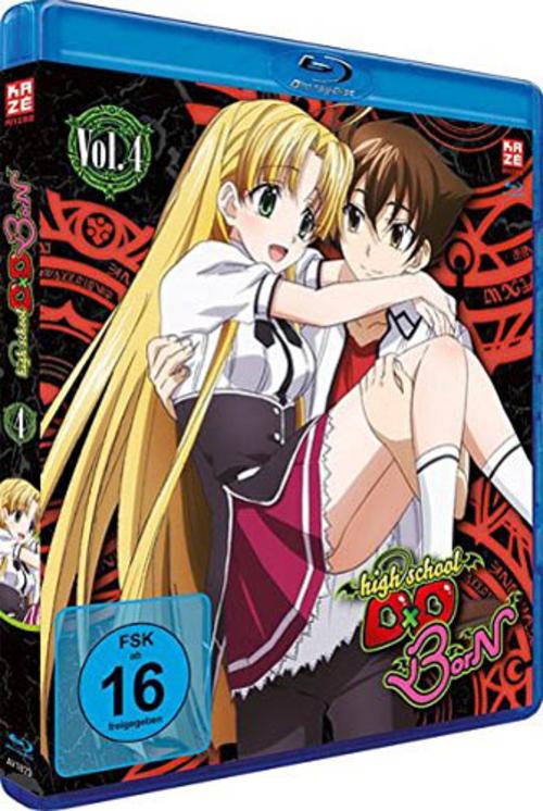 (C) KAZÉ Anime / Highschool DxD BorN Vol. 4 / Zum Vergrößern auf das Bild klicken
