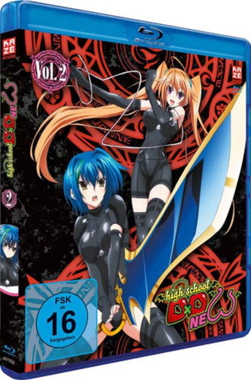 (C) KAZÉ Anime / Highschool DxD New Vol. 3 / Zum Vergrößern auf das Bild klicken