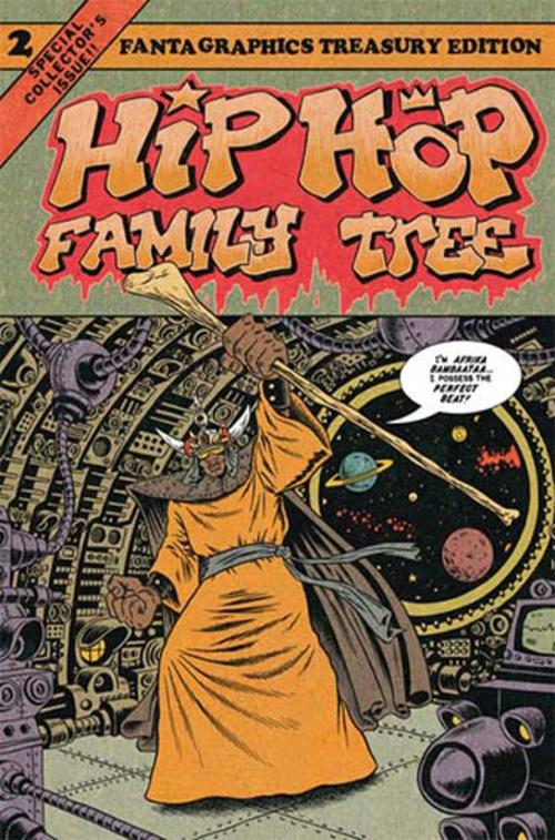 (C) Metrolit Verlag / Hip Hop Family Tree 2 / Zum Vergrößern auf das Bild klicken