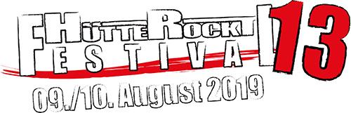 (C) Hütte Rockt Festival / Hütte Rockt Festival 2019 Logo / Zum Vergrößern auf das Bild klicken
