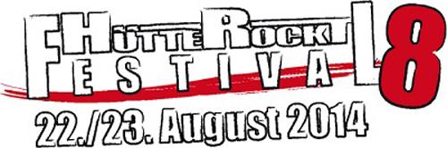 (C) Hütte Rockt / Hütte Rockt 2014 Logo / Zum Vergrößern auf das Bild klicken