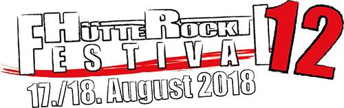 (C) Hütte Rockt Festival / Hütte Rockt Festival 2018 Logo / Zum Vergrößern auf das Bild klicken