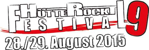 (C) Hütte Rockt Festival / Hütte Rockt Festival  2015 Logo / Zum Vergrößern auf das Bild klicken