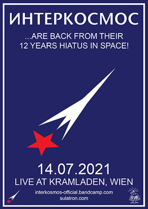INTERKOSMOS Flyer Wien 2021