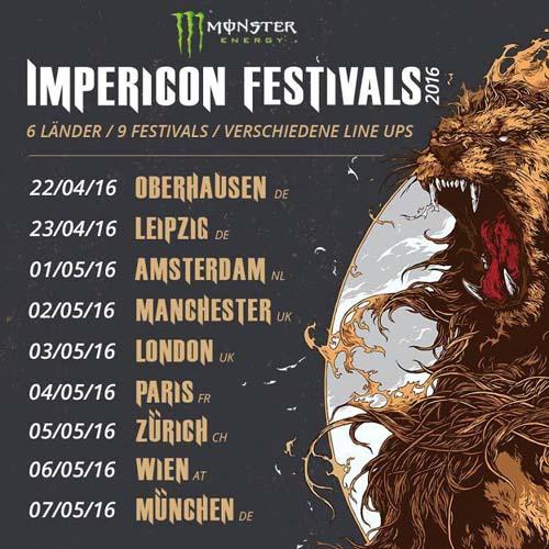 (C) Impericon / Impericon Festivals 2016 Flyer / Zum Vergrößern auf das Bild klicken