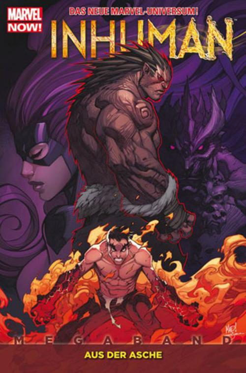(C) Panini Comics / Inhuman Megaband 1 / Zum Vergrößern auf das Bild klicken