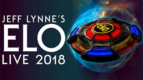 (C) Live Nation / JEFF LYNN`S ELO  Live 2018 / Zum Vergrößern auf das Bild klicken