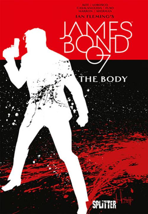 (C) Splitter Verlag / James Bond 007 8 / Zum Vergrößern auf das Bild klicken