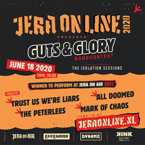 (C) Jera On Air / Jera On Air Guts Glory Bandcontest / Zum Vergrößern auf das Bild klicken