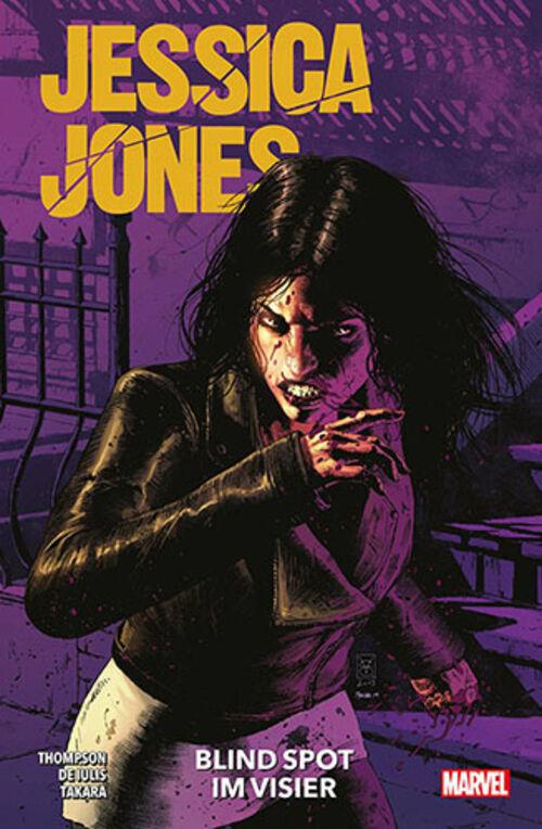 (C) Panini Comics / Jessica Jones: Blind Spot - Im Visier / Zum Vergrößern auf das Bild klicken