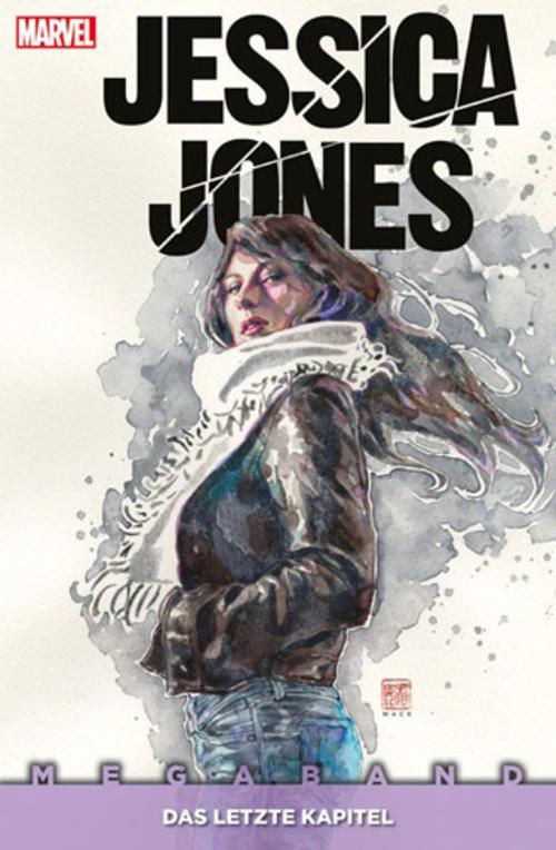 (C) Panini Comics / Jessica Jones Megaband: Das letzte Kapitel / Zum Vergrößern auf das Bild klicken