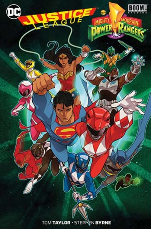 (C) Panini Comics / Justice League/Power Rangers / Zum Vergrößern auf das Bild klicken