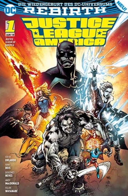 (C) Panini Comics / Justice League of America 1 / Zum Vergrößern auf das Bild klicken