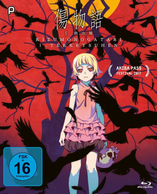 (C) peppermint anime / Kizumonogatari I: Blut und Eisen / Zum Vergrößern auf das Bild klicken