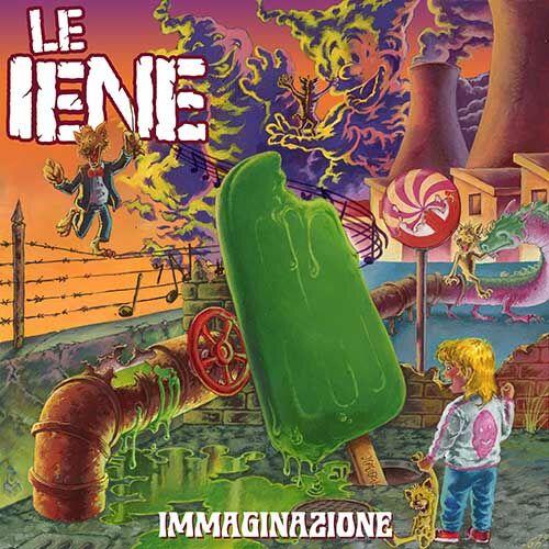 (C) Kob Records / LE IENE: Immaginazione / Zum Vergrößern auf das Bild klicken