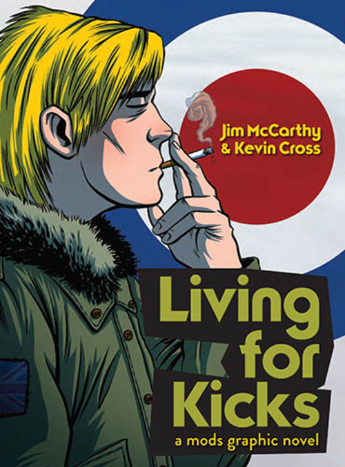 (C) Omnibus Press / Living For Kicks: A Mods Graphic Novel / Zum Vergrößern auf das Bild klicken
