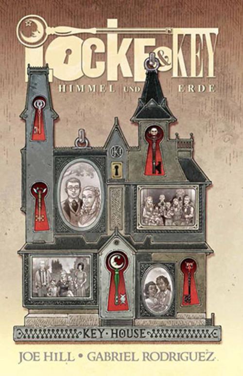 (C) Panini Comics / Locke & Key: Himmel und Erde / Zum Vergrößern auf das Bild klicken