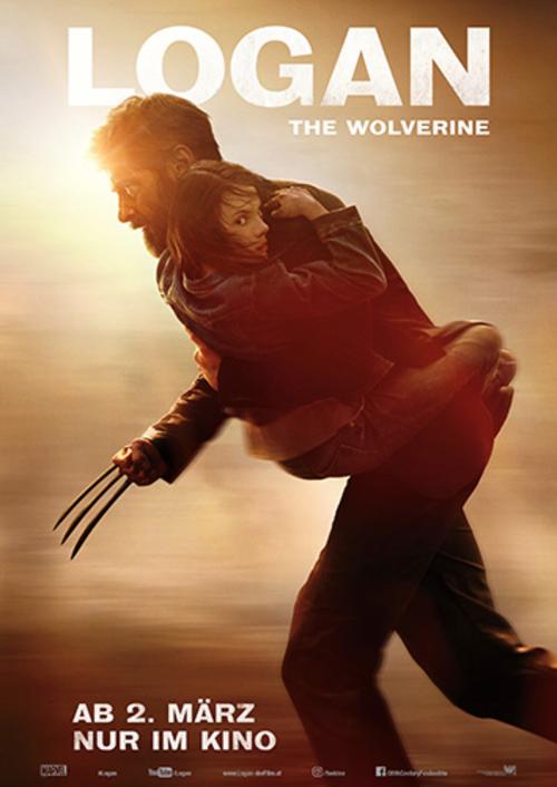 (C) 20th Century Fox / Logan The Wolverine Kinoposter / Zum Vergrößern auf das Bild klicken