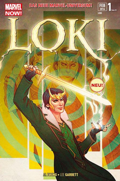 (C) Panini Comics / Loki 1 / Zum Vergrößern auf das Bild klicken