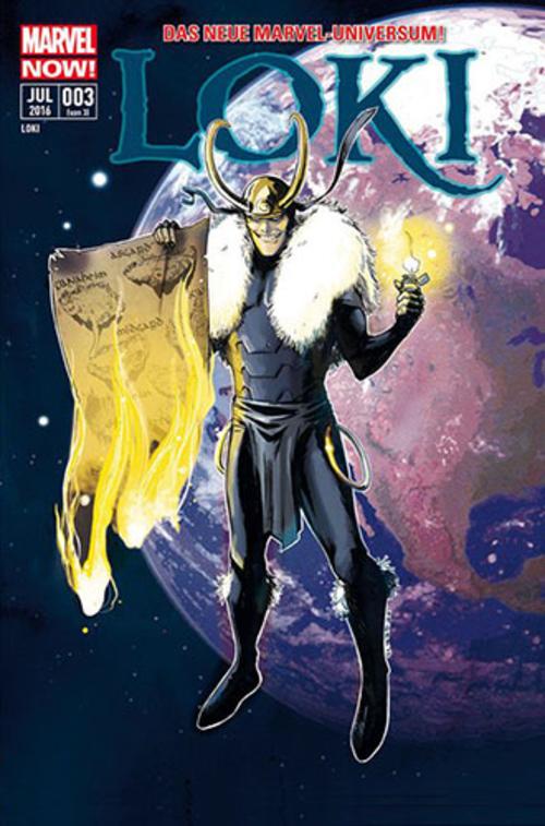 (C) Panini Comics / Loki 3 / Zum Vergrößern auf das Bild klicken