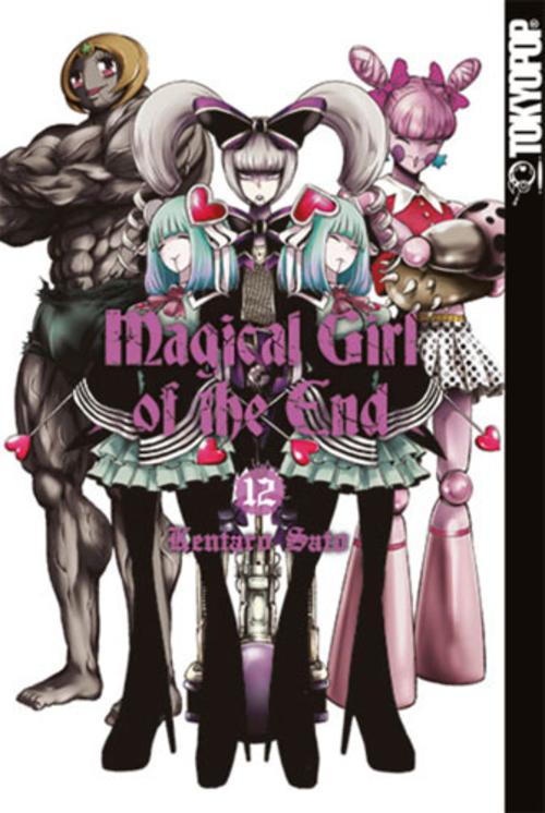 (C) Tokyopop / Magical Girl of the End 12 / Zum Vergrößern auf das Bild klicken