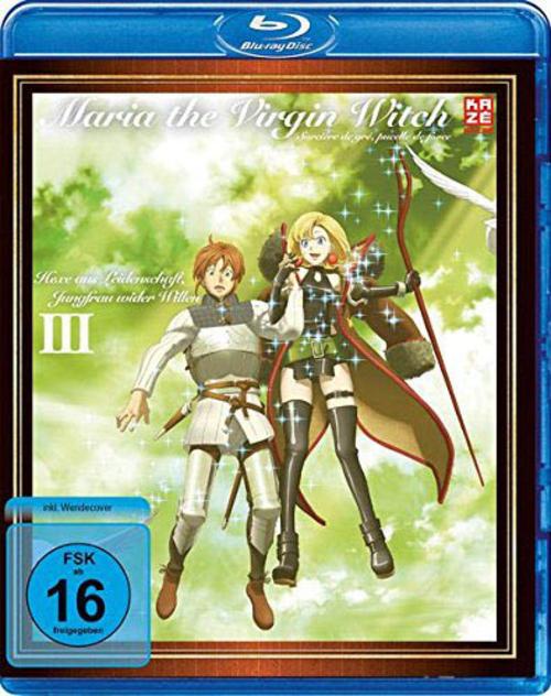 (C) KAZÉ Anime / Maria the Virgin Witch Vol. 3 / Zum Vergrößern auf das Bild klicken