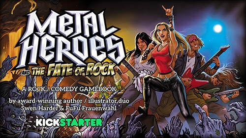 Metal Heroes Kickstarter Kampagne