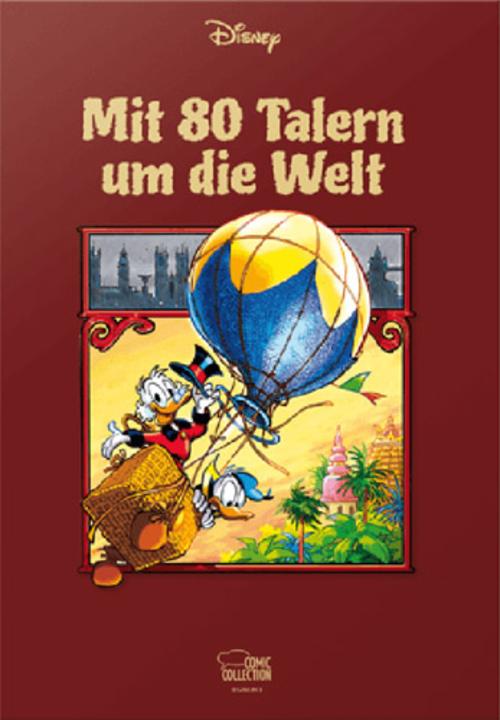 (C) Egmont Comic Collection / Mit 80 Talern um die Welt / Zum Vergrößern auf das Bild klicken