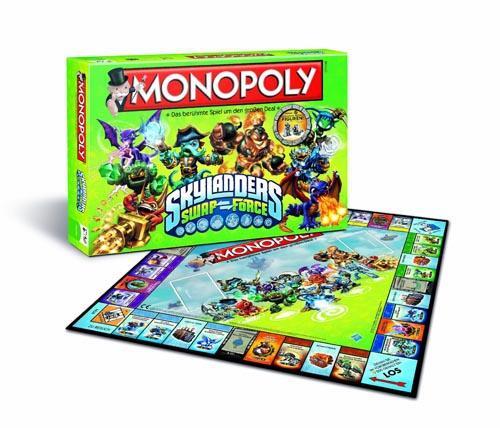 (C) Winning Moves / Monopoly Skylanders Swap Force / Zum Vergrößern auf das Bild klicken