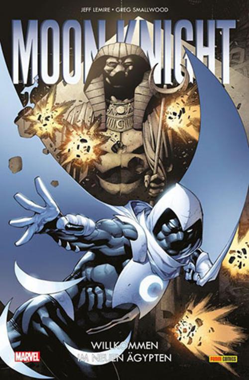 (C) Panini Comics / Moon Knight 1 / Zum Vergrößern auf das Bild klicken
