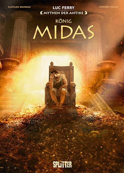 (C) Splitter Verlag / Mythen der Antike: Mythen der Antike: König Midas / Zum Vergrößern auf das Bild klicken