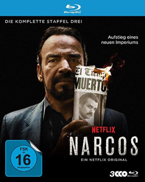 (C) Polyband / Narcos Season 3 Blu-ray / Zum Vergrößern auf das Bild klicken
