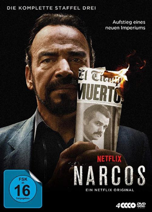 (C) Polyband / Narcos Season 3 DVD / Zum Vergrößern auf das Bild klicken