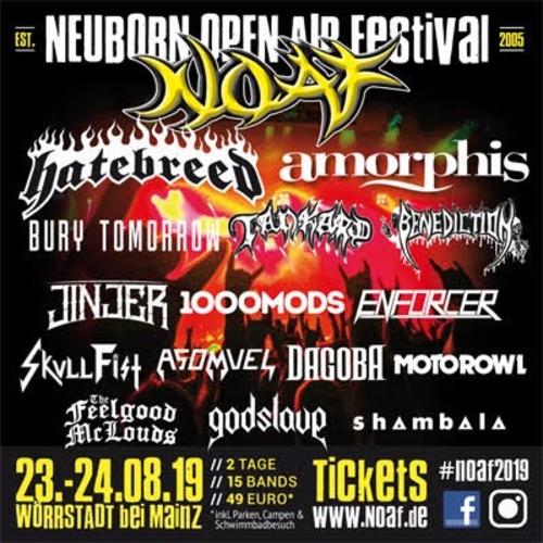 (C) Neuborn Open Air Festival / Neuborn Open Air Festival 2019 Flyer / Zum Vergrößern auf das Bild klicken