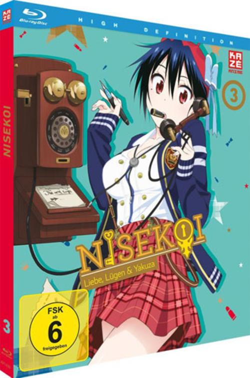 (C) KAZÉ Anime / Nisekoi Vol. 3 / Zum Vergrößern auf das Bild klicken